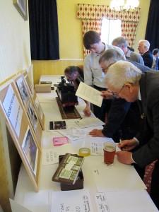 Members signing.