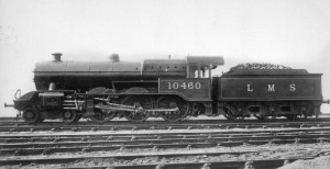 A Hughes Dreadnought in LMS livery.